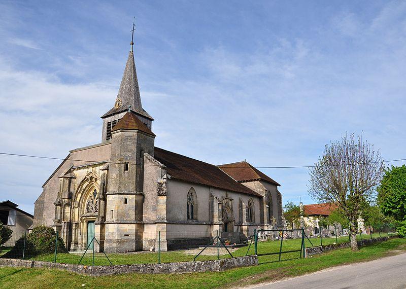 Photo du Monument Historique Eglise Saint-Jean-Baptiste situé à Foucaucourt-sur-Thabas