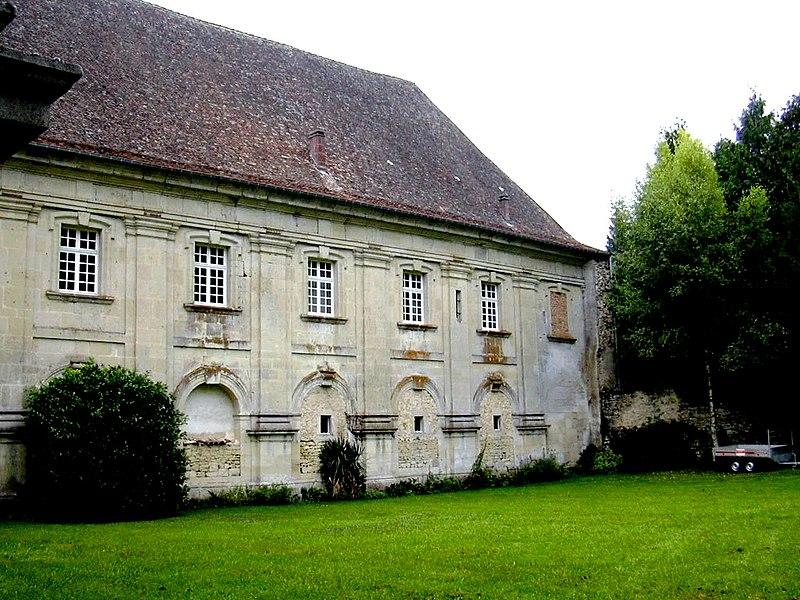 Photo du Monument Historique Abbaye de Rangeval situé à Geville
