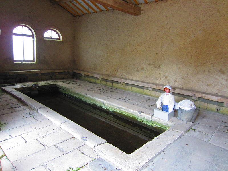 Photo du Monument Historique Lavoir situé à Lacroix-sur-Meuse
