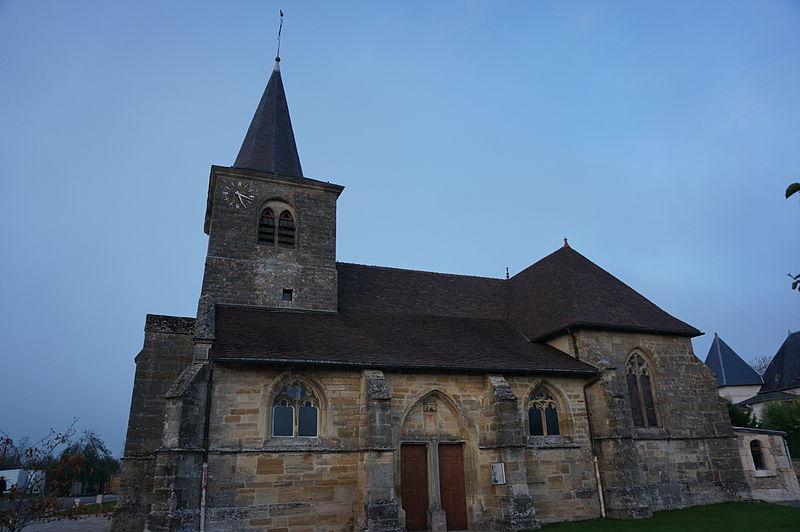 Photo du Monument Historique Eglise Saint-Rémi situé à Laimont