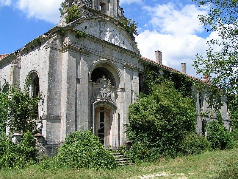 Photo du Monument Historique Ancienne abbaye de l'Etanche, à Deuxnouds-aux-Bois situé à Lamorville