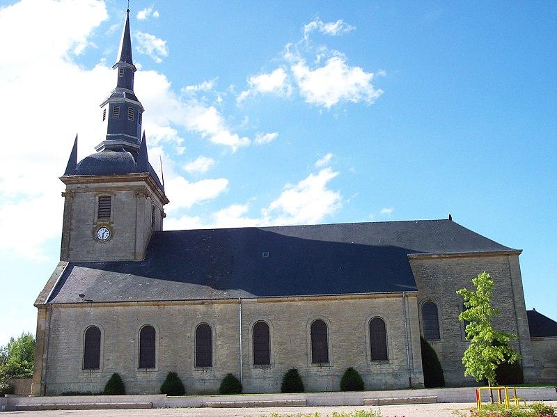 Photo du Monument Historique Eglise situé à Laneuville-sur-Meuse