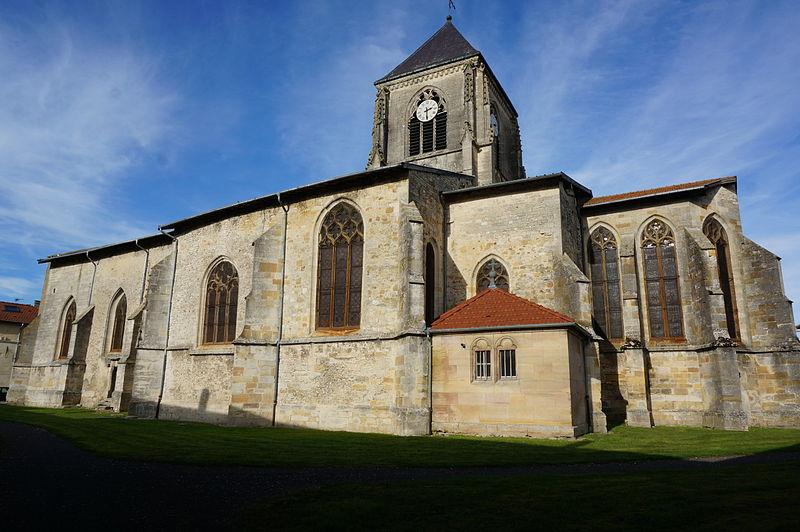 Photo du Monument Historique Eglise Saint-Hilaire situé à Longeville-en-Barrois