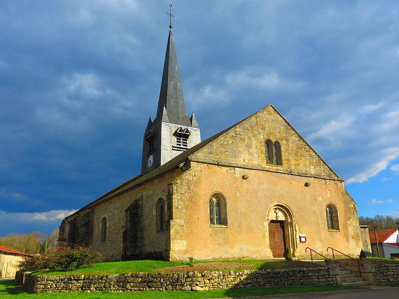 Photo du Monument Historique Eglise situé à Les Hauts-de-Chée