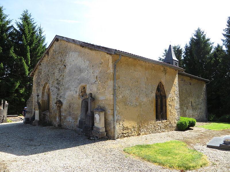 Photo du Monument Historique Croix de cimetière situé à Louppy-sur-Loison
