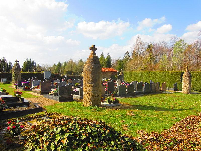 Photo du Monument Historique Cimetière situé à Marville