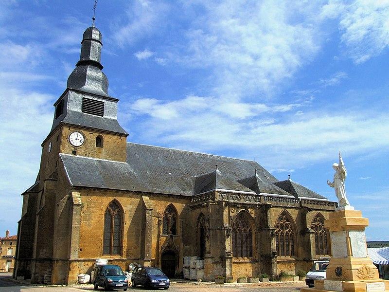 Photo du Monument Historique Eglise Saint-Nicolas situé à Marville
