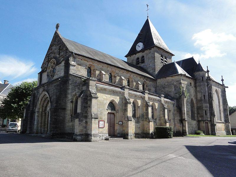 Photo du Monument Historique Eglise situé à Mognéville
