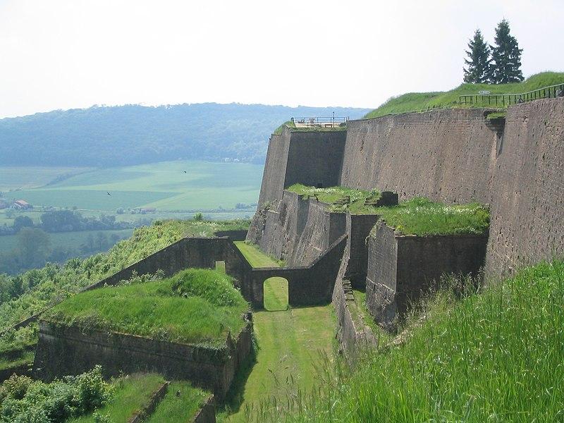 Photo du Monument Historique Citadelle situé à Montmédy