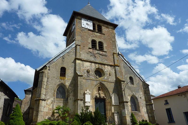 Photo du Monument Historique Eglise Saint-Maurice-de-Naives situé à Naives-Rosières