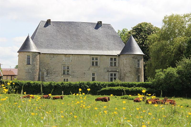 Photo du Monument Historique Château situé à Neuville-en-Verdunois