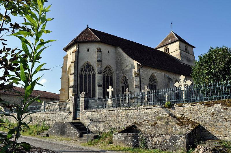Photo du Monument Historique Eglise Saint-Martin situé à Nubécourt