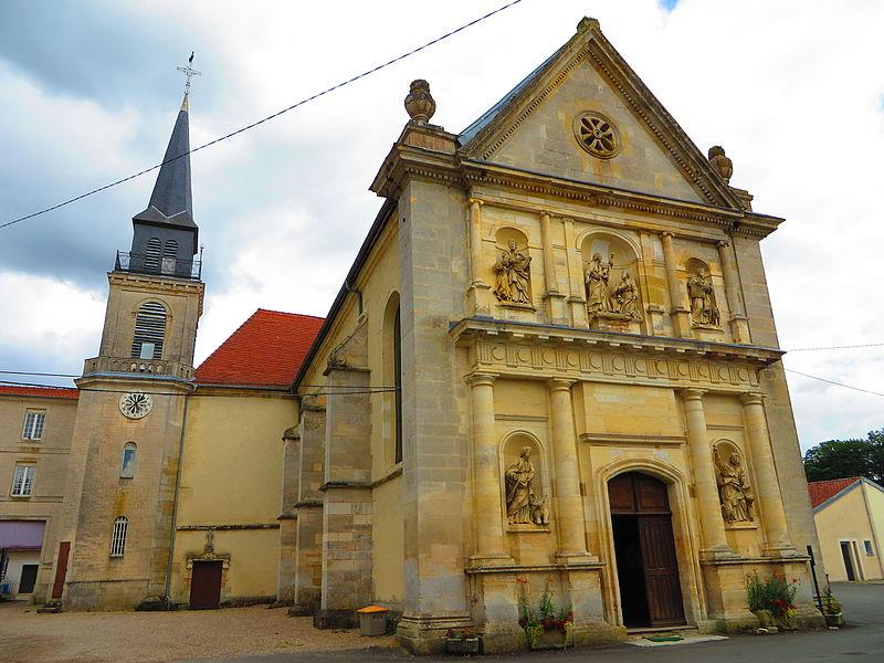 Photo du Monument Historique Eglise de pélerinage de Benoîte-Vaux situé à Rambluzin-et-Benoite-Vaux