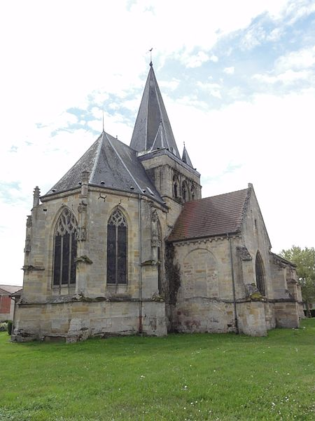 Photo du Monument Historique Eglise Saint-Médard situé à Rancourt-sur-Ornain