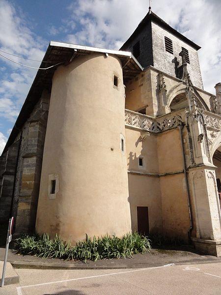 Photo du Monument Historique Eglise Saint-Rémi situé à Resson