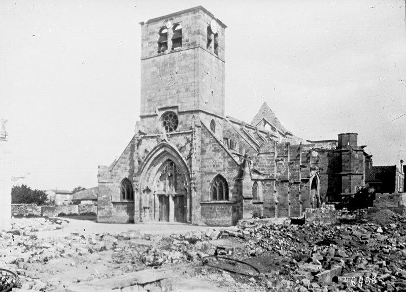 Photo du Monument Historique Eglise Saint-Pierre situé à Revigny-sur-Ornain