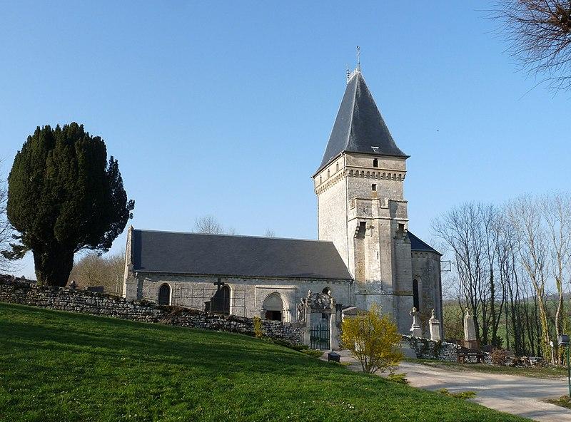 Photo du Monument Historique Eglise situé à Ribeaucourt