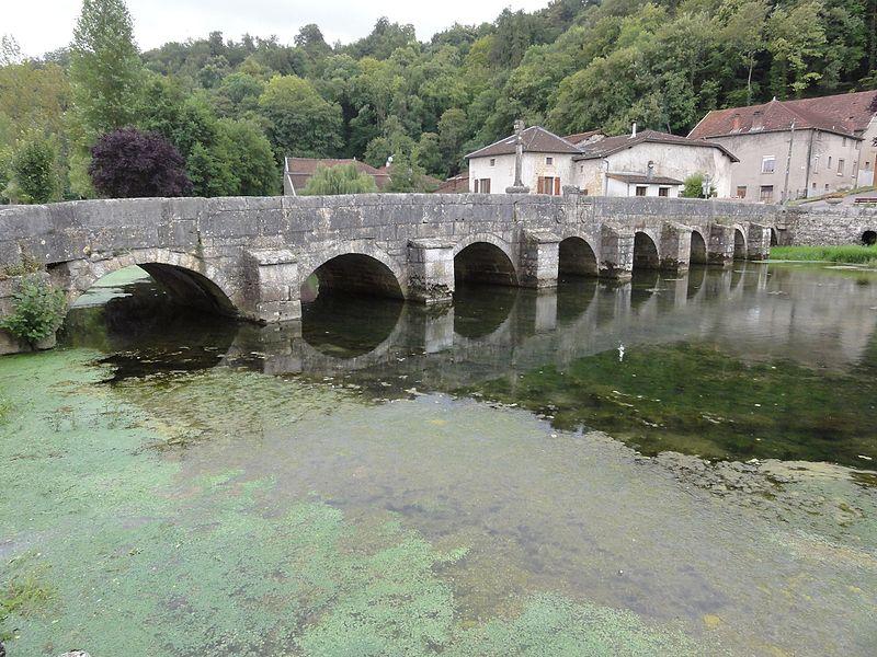 Photo du Monument Historique Pont sur la Saulx situé à Rupt-aux-Nonains