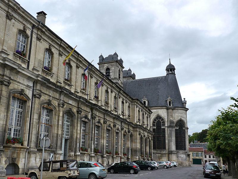 Photo du Monument Historique Ancienne abbaye situé à Saint-Mihiel