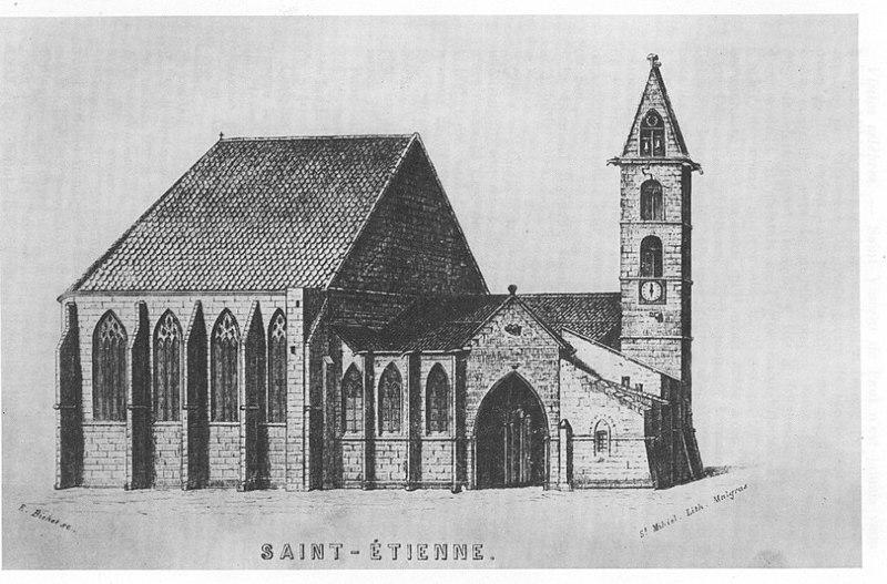 Photo du Monument Historique Eglise Saint-Etienne situé à Saint-Mihiel