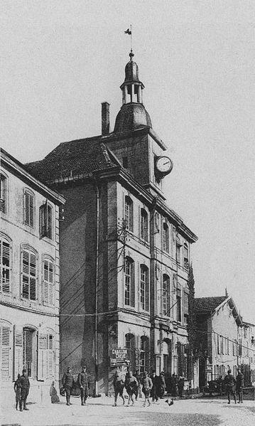 Photo du Monument Historique Hôtel de ville situé à Saint-Mihiel