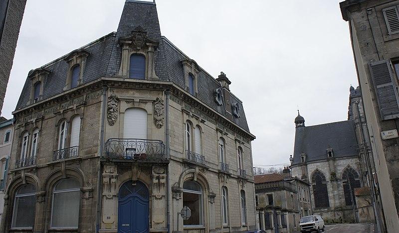 Photo du Monument Historique Maison situé à Saint-Mihiel