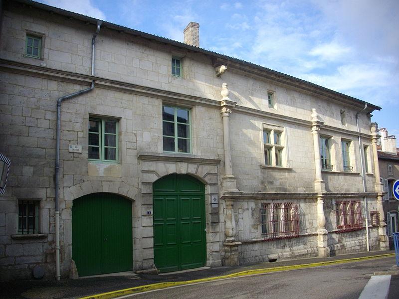 Photo du Monument Historique Immeuble situé à Saint-Mihiel