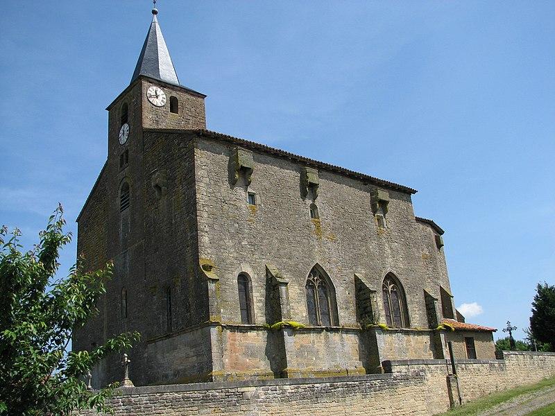 Photo du Monument Historique Eglise situé à Saint-Pierrevillers