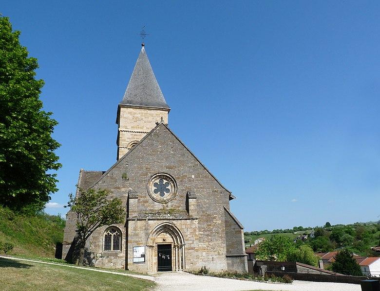 Photo du Monument Historique Eglise Saint-Menge situé à Trémont-sur-Saulx