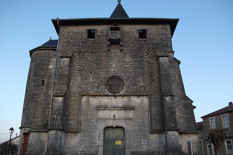 Photo du Monument Historique Eglise de l'Immaculée Conception situé à Tronville-en-Barrois