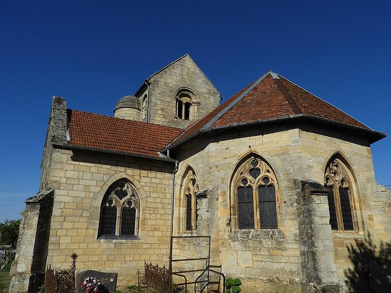 Photo du Monument Historique Eglise Saint-Pierre situé à Vassincourt