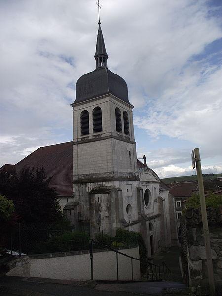 Photo du Monument Historique Eglise Saint-Laurent situé à Vaucouleurs