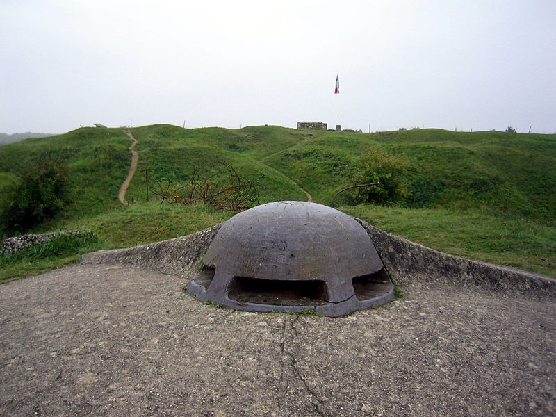 Photo du Monument Historique Fort de Vaux (également sur commune de Damloup) situé à Vaux-devant-Damloup