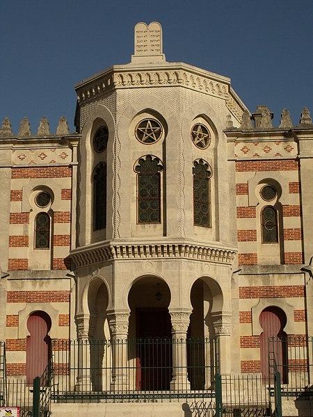 Photo du Monument Historique Synagogue et ancienne maison du rabbin situé à Verdun
