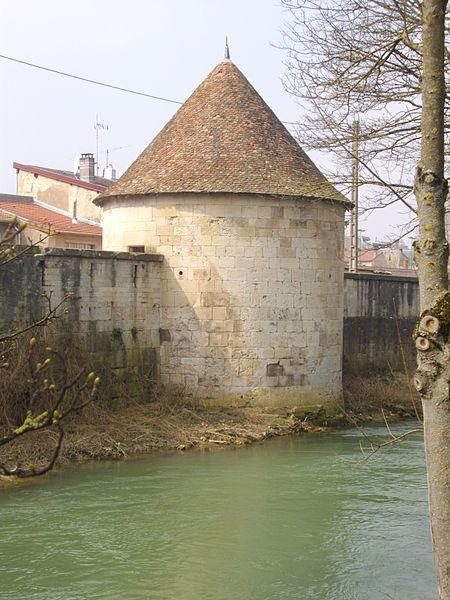 Photo du Monument Historique Tour de l'Islot situé à Verdun