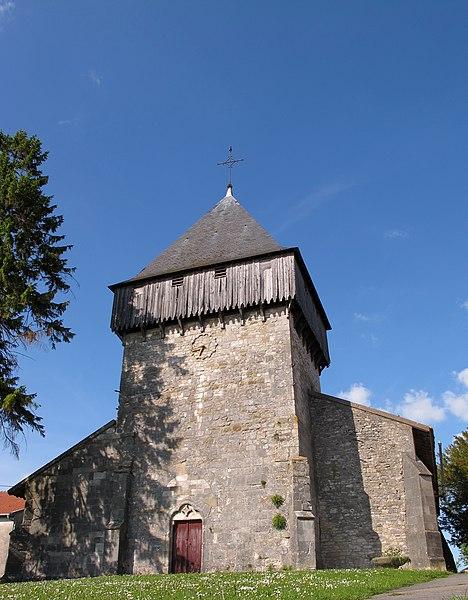 Photo du Monument Historique Eglise situé à Woël
