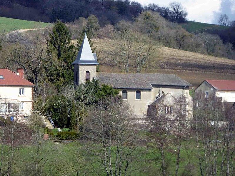 Photo du Monument Historique Eglise Saint-Martin situé à Chaumont-devant-Damvillers
