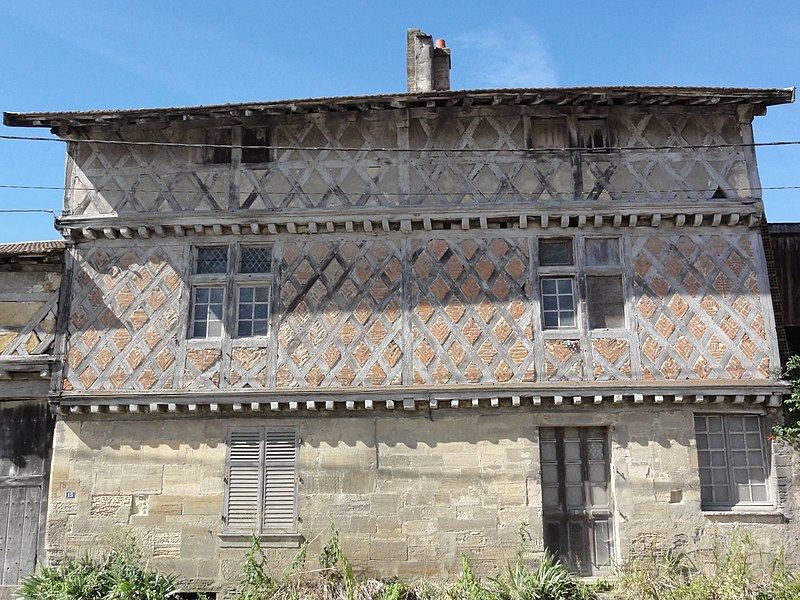 Photo du Monument Historique Ferme situé à Mognéville