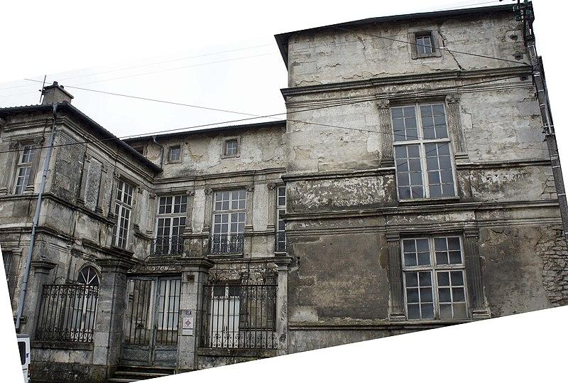 Photo du Monument Historique Hôtel de Gondrecourt situé à Saint-Mihiel