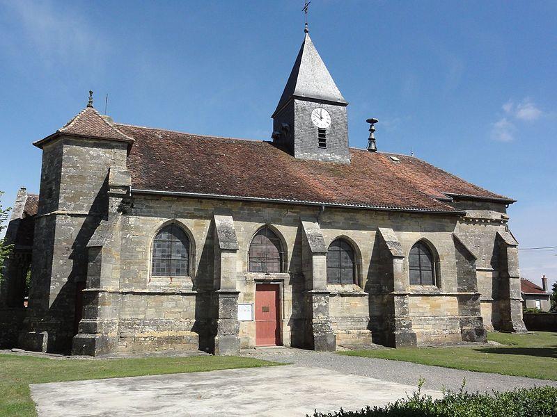 Photo du Monument Historique Eglise Notre-Dame de l'Assomption situé à Andernay