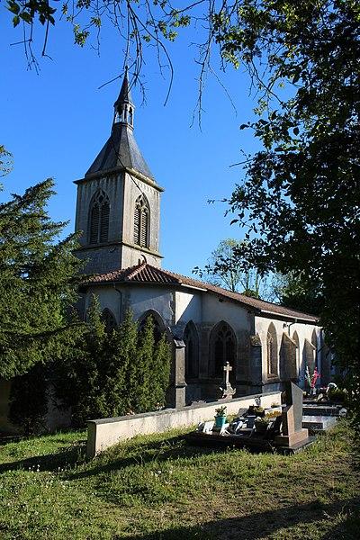 Photo du Monument Historique Eglise Saint-Pierre et Saint-Paul de Creue situé à Vigneulles-lès-Hattonchâtel