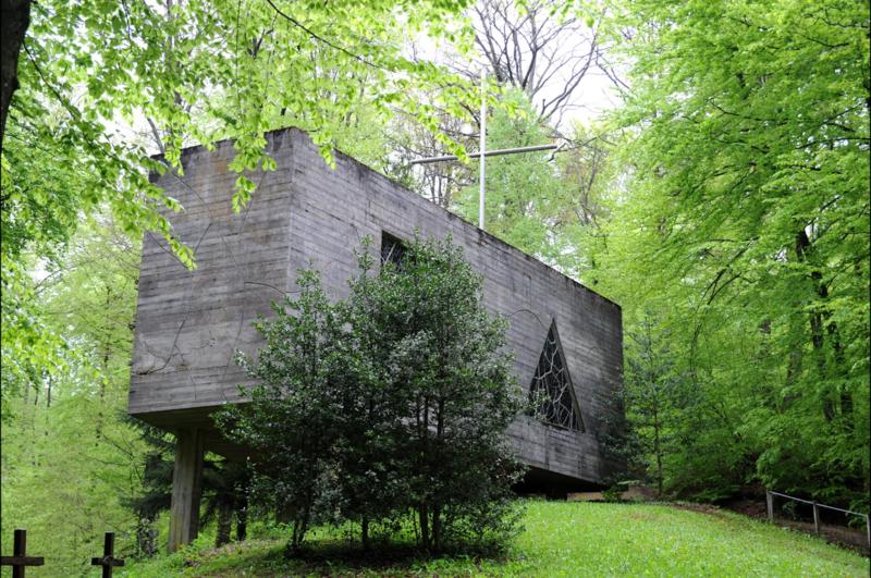 Photo du Monument Historique Ermitage de Saint-Rouin, puis chapelle de pèlerinage situé à Beaulieu-en-Argonne