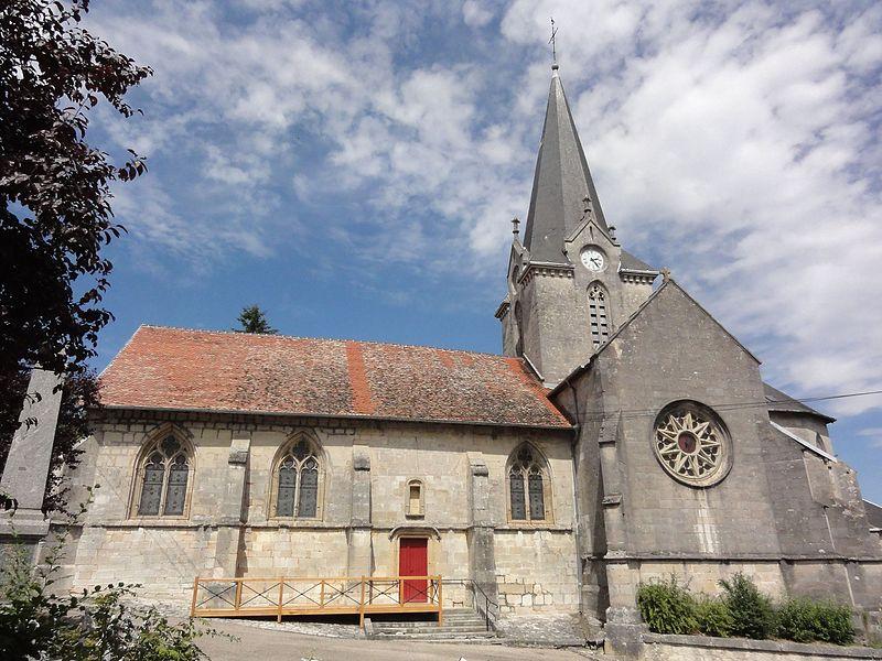 Photo du Monument Historique Eglise de l'Annonciation Notre-Dame situé à Dammarie-sur-Saulx