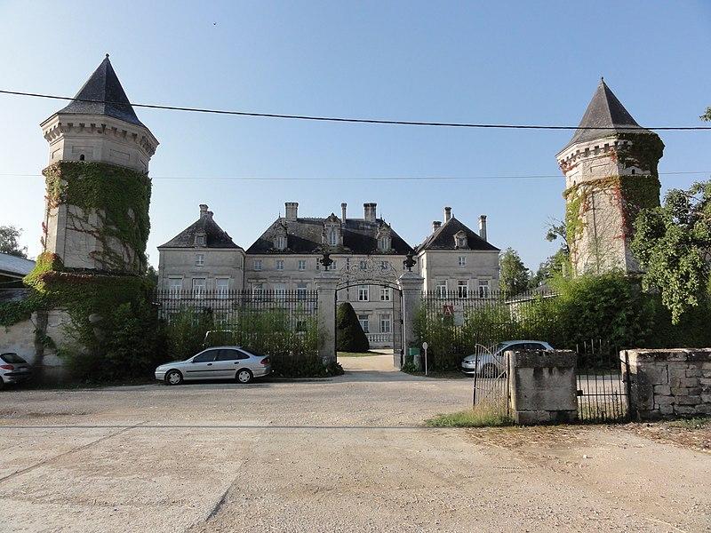 Photo du Monument Historique Domaine du petit Monthairon situé à Les Monthairons