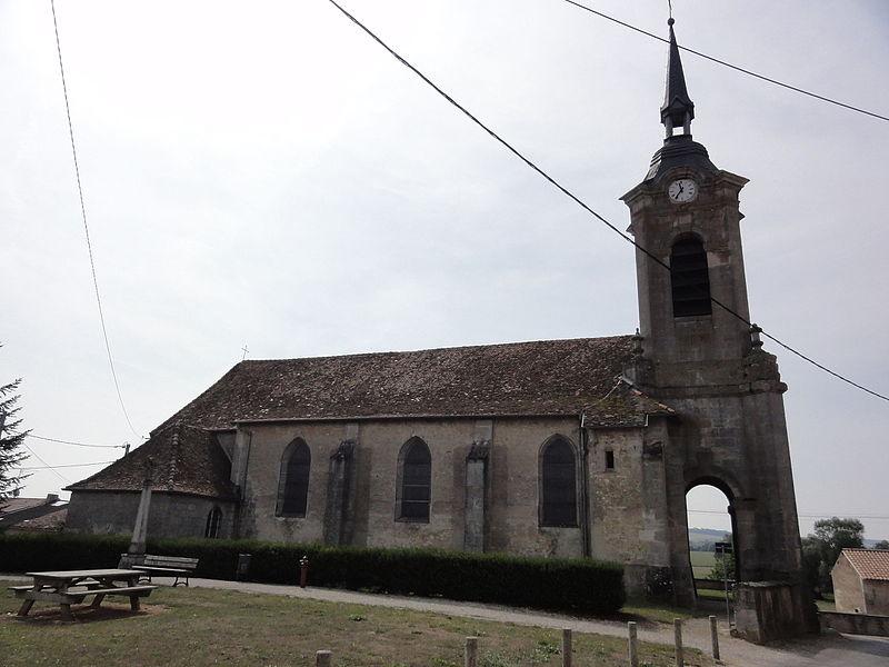 Photo du Monument Historique Eglise Saint-Pierre de Ville-Issey situé à Euville