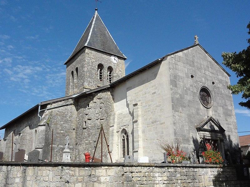 Photo du Monument Historique Eglise Notre-Dame situé à Ménil-sur-Saulx