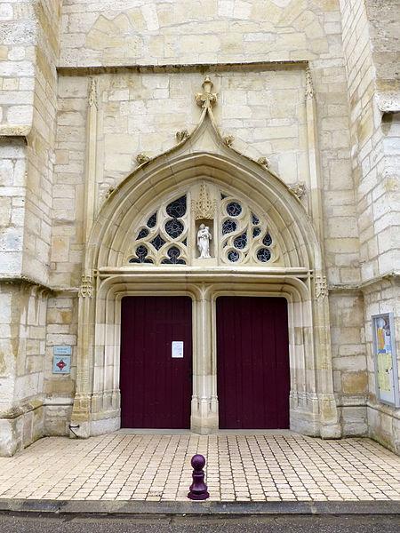 Photo du Monument Historique Eglise Saint-Calixte situé à Savonnières-devant-Bar