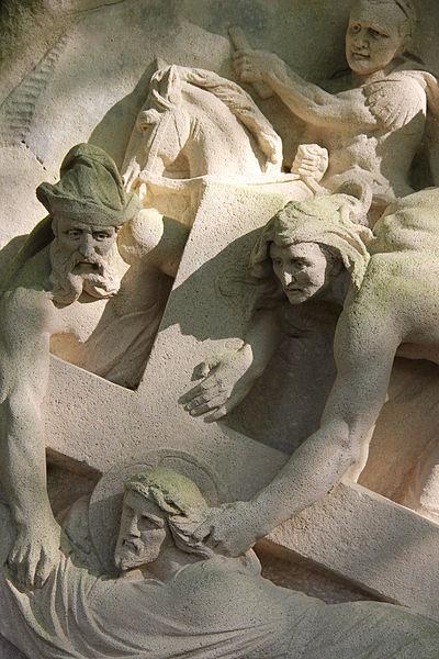 Photo du Monument Historique Chemin de croix de Benoite-Vaux situé à Rambluzin-et-Benoite-Vaux