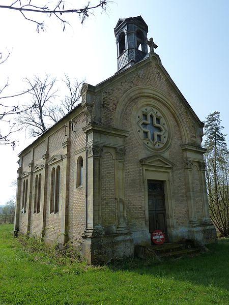 Photo du Monument Historique Chapelle de Notre-Dame du Val situé à Noyers-Auzécourt