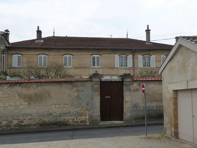Photo du Monument Historique Hôtel particulier situé à Bar-le-Duc